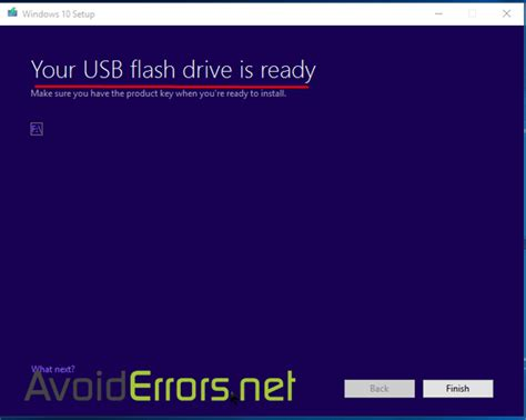 install windows 10 with usb how to install windows 10 from a usb flash drive avoiderrors
