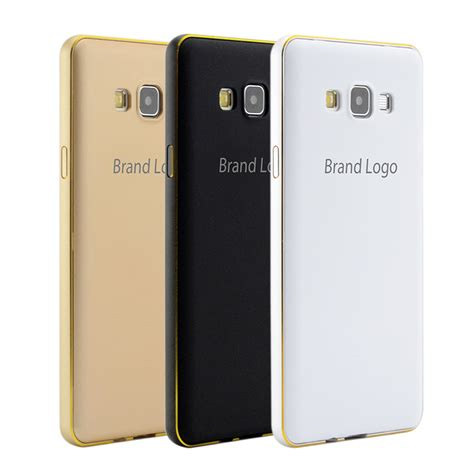 Luxury Aluminium Bumper Mirror Samsung A3 A300 A3 20 Berkualitas 2in1 luxury metal frame pc back cover a300 accessories cell mobile phone cases aluminum bumper