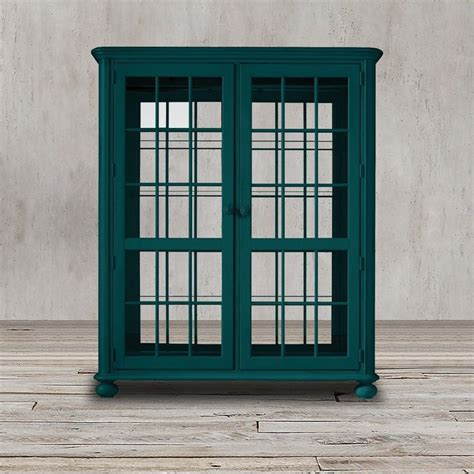 add glass doors to bookcase add a coastal charm to your house with this vibrant teal