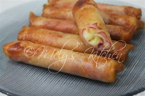 macaroni cheese spring rolls am i in heaven plemousse ham and cheese rolls mely s kitchen
