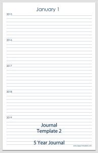 Printable Journal Template 2 Legacy Templates Journal Ad Template