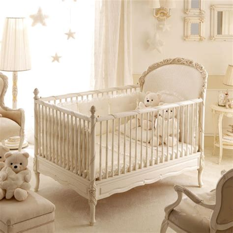 Vintage Baby Crib by Dolce Notte Crib In Antique White And Nursery Necessities