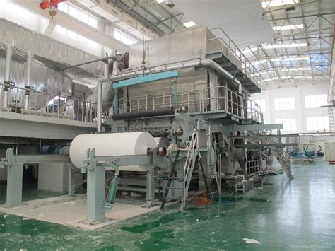 Tissue Paper Machine - tissue toilet napkin paper machine eas 1103 easttai