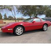 1989 CHEVROLET CORVETTE 2 DOOR COUPE  133130