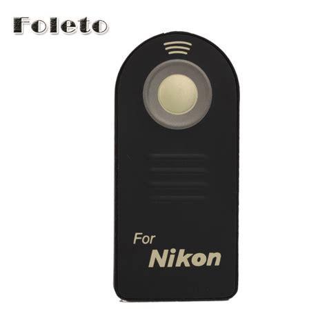 Ir Wireless Remote Shutter Ml L3 For Nikon Baru Aksesoris Kamera aliexpress buy ir wireless ml l3 remote