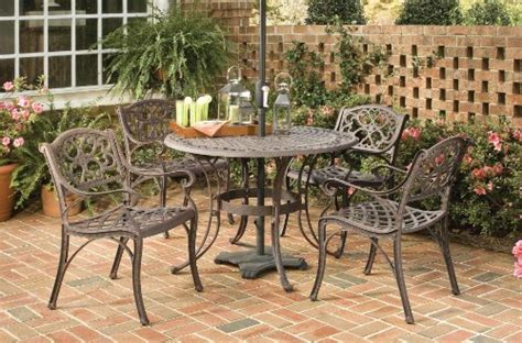 Patio Dining Sets Clearance Sale Patio Sets Clearance Home Styles 5555 308 Biscayne 5 Outdoor Dining Set Rust Bronze