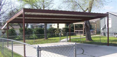 Wood Awning Kit Large Stand Alone Carport San Antonio Carport Patio
