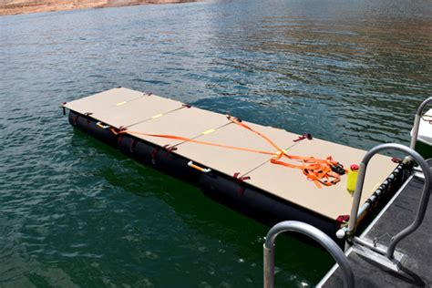 diy floating boat docks diy portable floating dock simplified building