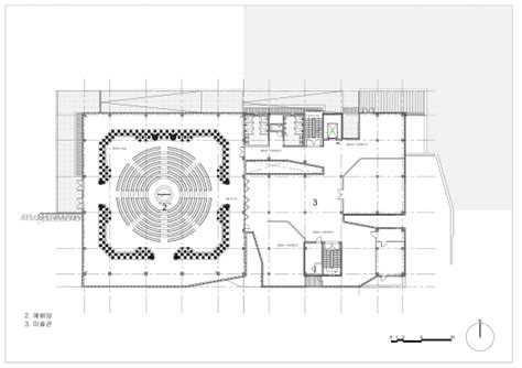 church of light floor plan light of church shinslab architecture iisac
