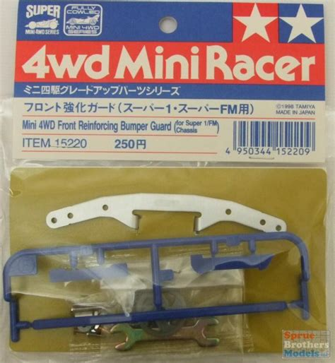 Tamiya 4wd 15405 Front Guard tam15220 tamiya 4wd miniracer accessory front reinforcing bumper guard for 1 fm chassis