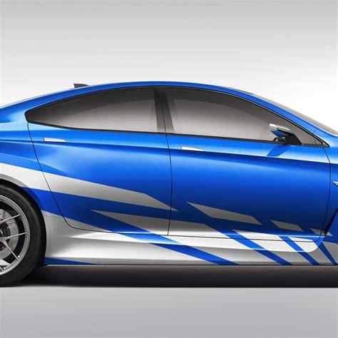 dekor aufkleber auto 2x seitenstreifen 300cm seitenaufkleber streifen dekor
