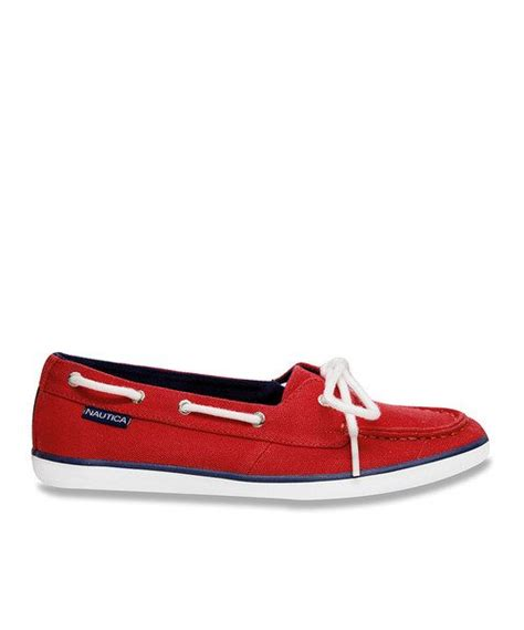 red boat shoes womens fiery red boat shoe women