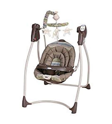 infant swings that plug in com graco lovin hug plug in swing hamilton