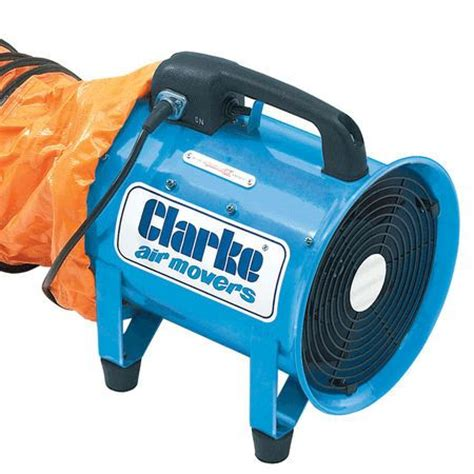 exhaust fans dust extraction clarke cam200 dust and fume extractor fan 200mm 838cfm