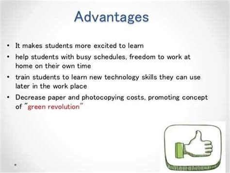 Benefits Of Technology Essay by Advantages Of Co Education Free Essays Studymode