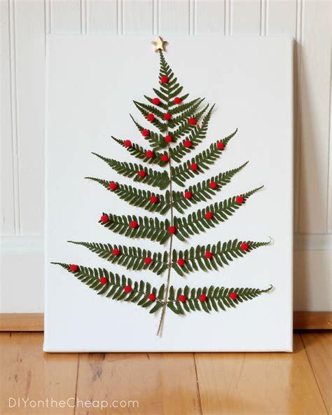 christmas leaf fern leaf tree erin spain