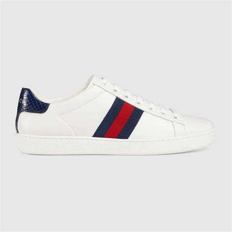 gucci sneakers gucci ace leather low top sneakers ace leather low top