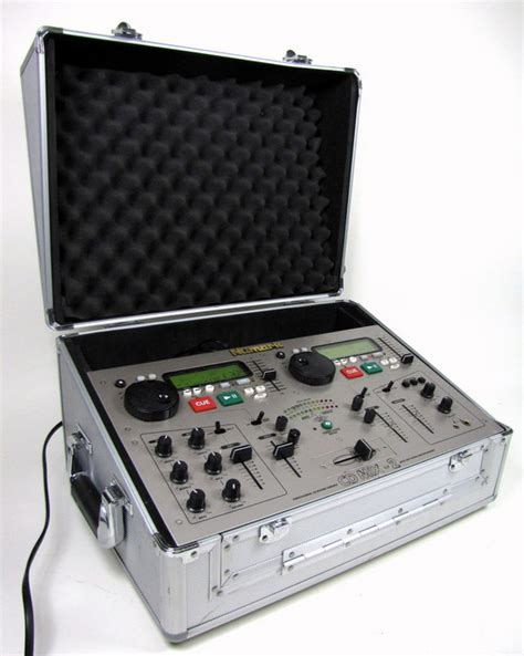 Hardcase Mixer numark cd mix 2 cd mix station dual cd player dj mixer