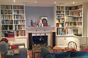 Living Room Bookshelves And Cabinets Made Painted Living Room Cabinets And Bookshelves By