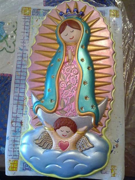 imagenes de la virgen de guadalupe en azulejo 59 best images about virgencitas on pinterest ceramics