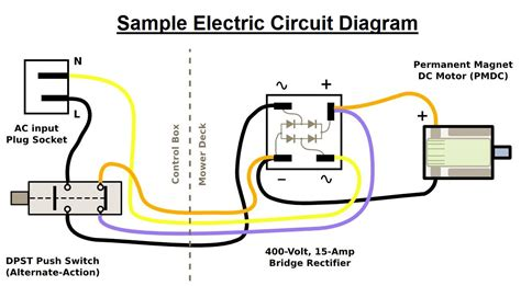 electric circuit diagram charts