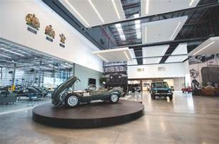 Jaguar Land Rover Headquarters Jaguar Land Rover Opens 163 7m Classic Hq Autocar