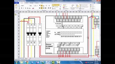 tutorial wiring plc omron cp1e e20 bahasa indonesia eps