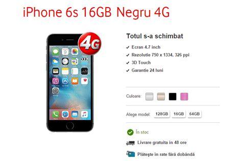 oferte pentru apple iphone 6s si 6s plus