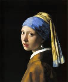 with a pearl earring by vermeer johannes