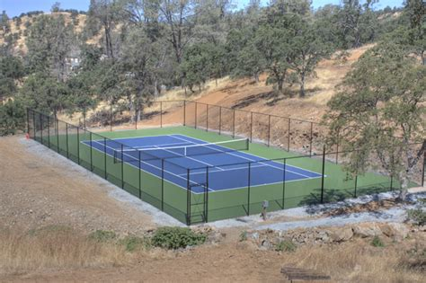 how to build a tennis court in your backyard brooks construction project gallery tennis courts