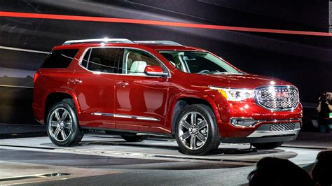 gmc cars 2017 gmc acadia cool cars from the detroit auto show