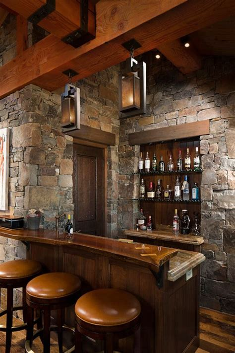 cool home remodeling ideas walls bar and woods