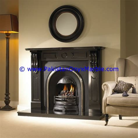 modern design marble carved fireplace marble fireplaces black and gold jet black marble