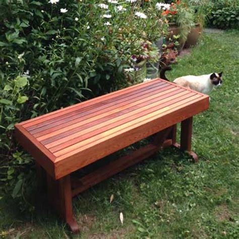 cedar bench designs pdf plans make cedar garden bench download diy mastermyr