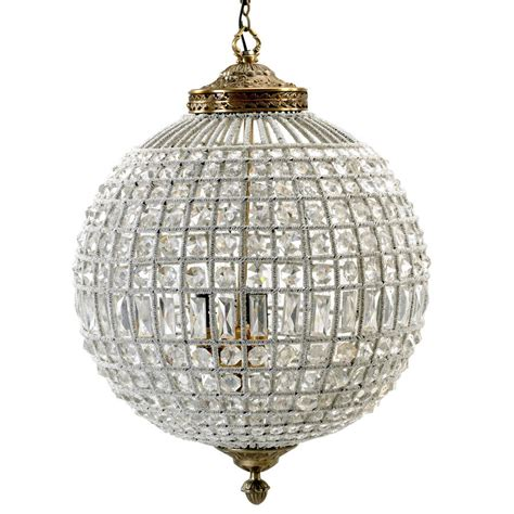 Size Of Chandelier Globe Chandelier In Two Sizes By Out There Interiors Notonthehighstreet