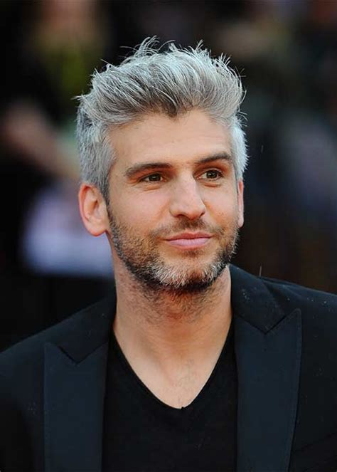 men greyhair 9 reasons why guys with grey hair are hot