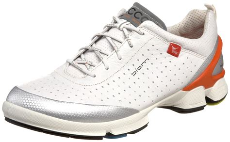 ecco mens biom walk 11 walking shoe in white for lyst