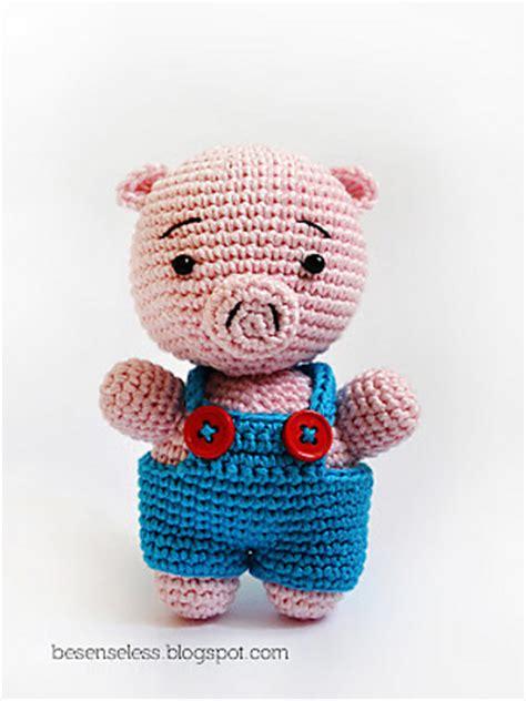 pattern amigurumi pig thursday handmade love week 54 crochet addict uk