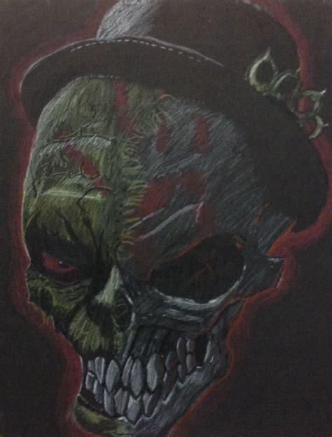 zombie skull 2 finger knuckle skull five finger punch by jayhemma on