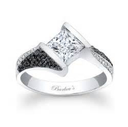 white and black engagement rings barkev s black and white engagement ring 7872lbk