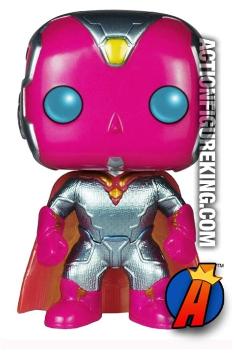 Funko Pop Marvel 2 Vision funko pop marvel 2 variant metallic vision