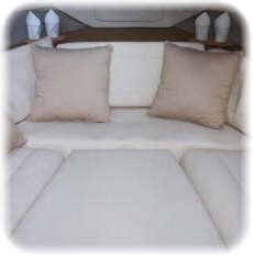 Copycat Upholstery by Bayliner 2455 Interior From Copycat Covers Inc In Orlando