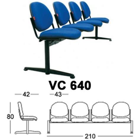 Kursi Tunggu Chairman Ac 840 jual kursi tunggu chairman vc 640 harga murah toko