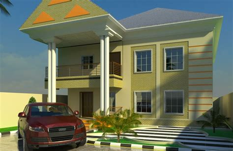 A Propossed Six Bedrooms Duplex Building In Port Harcourt 6 Bedroom Duplex House Plans In Nigeria