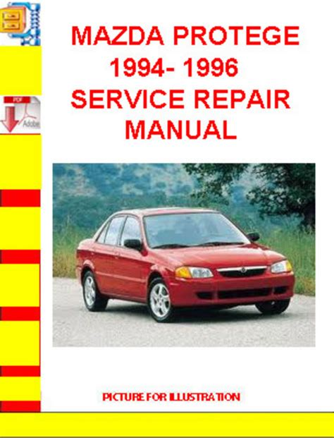 service manual 1996 mazda protege repair manual pdf 1996 mazda mx 6 repair manual pdf 1996 mazda protege 1994 1996 service repair manual download manuals