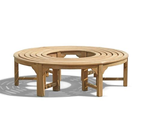 circular tree bench saturn teak circular tree bench 160cm