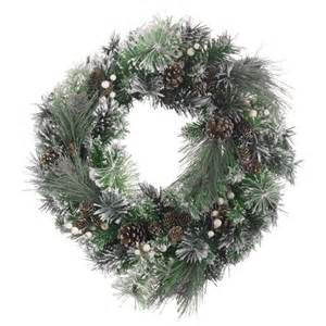 frosted spruce wreath from laura ashley christmas