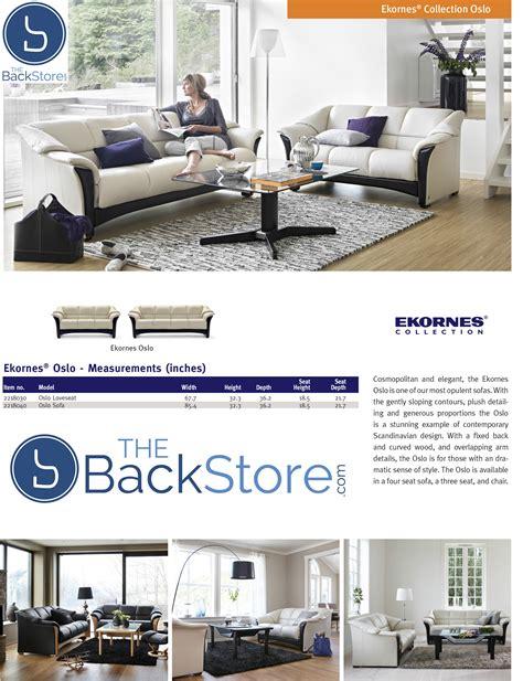 ekornes leather sofa ekornes oslo sofa loveseat chair and sectional ekornes