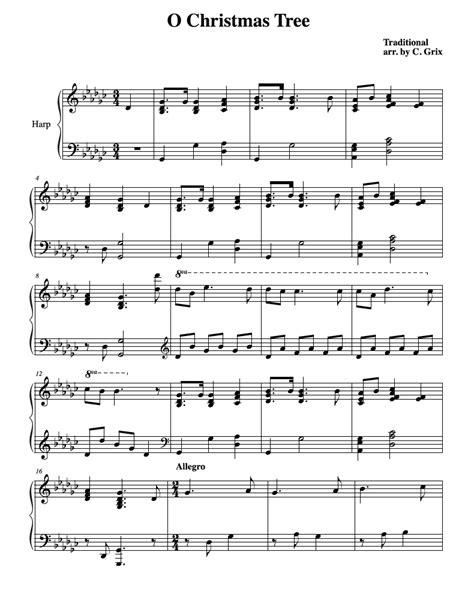 variations on o tree harp column