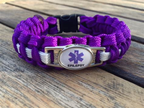 how to a service for epilepsy handmade by heroes paracord epilepsy identification bracelets support our veterans